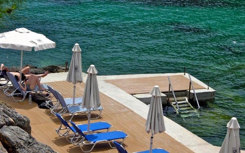 Porto Valitsa hotel beach-bar Halkidiki