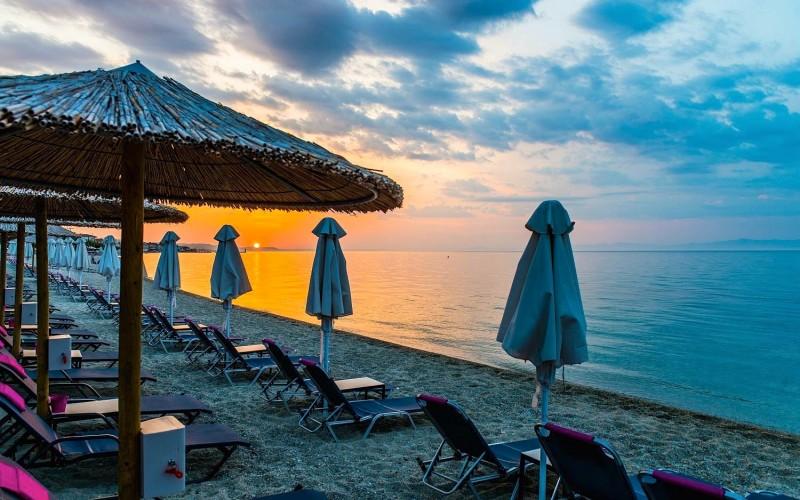 Halkidiki beach bars Pefkohori