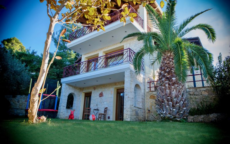 Villa Halkidiki garden & sea view