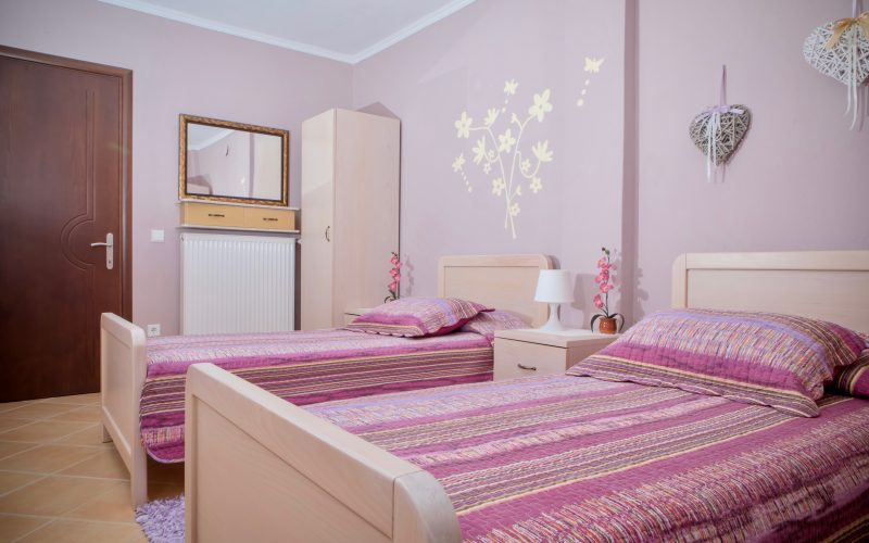 Halkidiki rental property bedroom