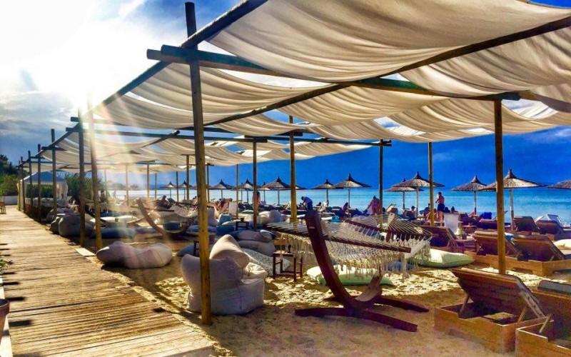 Umbrellas beach bar - Chalkidiki
