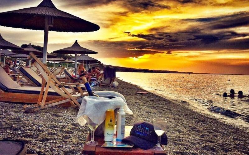 Umbrellas beach bar - Paliouri Halkidiki