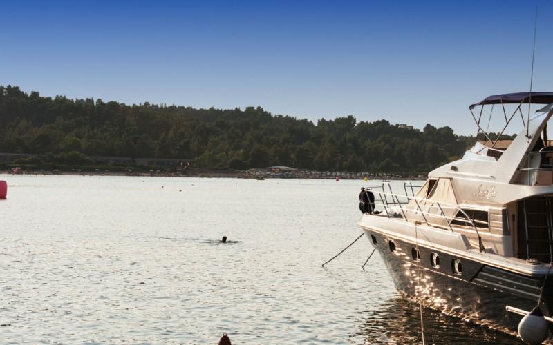 Ksenias hotel & EOT camping beach Paliouri - Halkidiki
