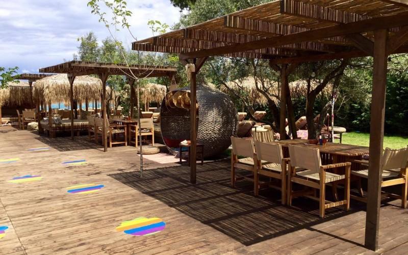 lephant beach bar, chill-out beach bar Halkidiki.