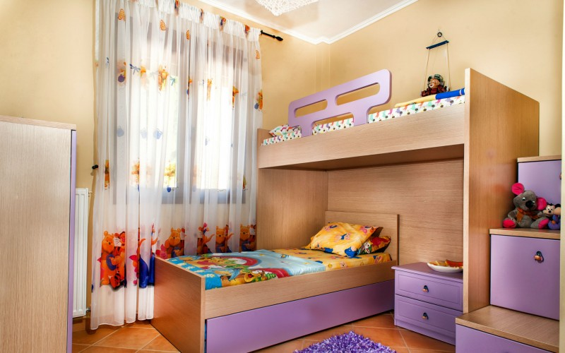 Chalkidiki home for rent childrens room
