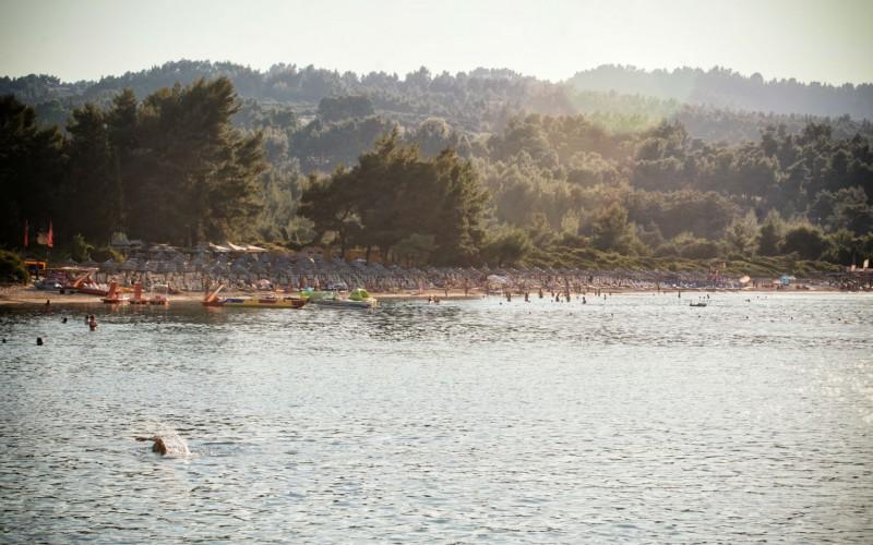 Ksenias family beach in Paliouri Chalkidiki