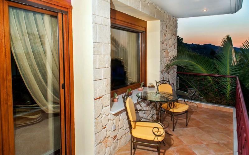 Pefkochori estate balcony