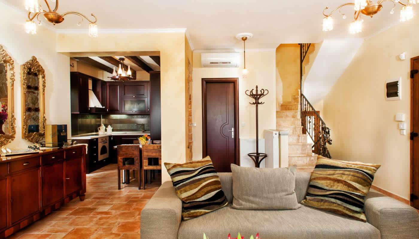 Pefkochori luxury house for rent Greece