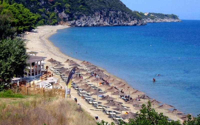 Paliouri Bay - Navagos beach bar Halkidiki
