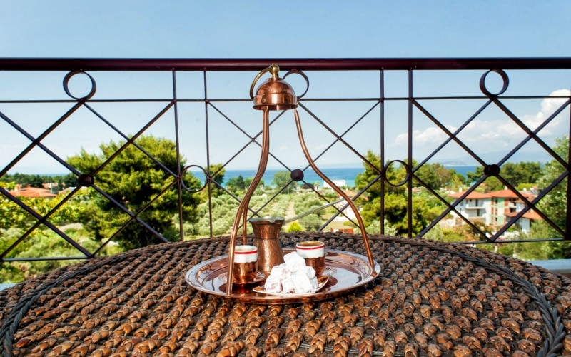 Greek vacation home with view Pefkohori