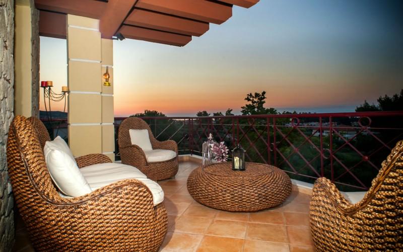 Sunset view Halkidiki