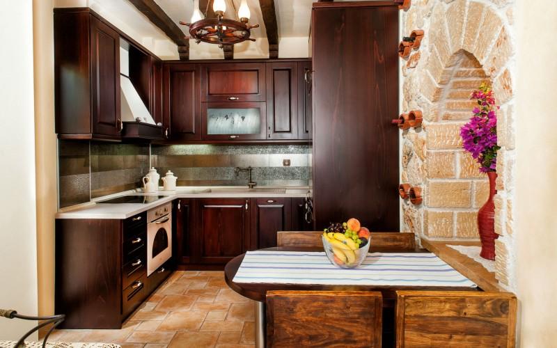 Halkidiki villa for rent kitchen
