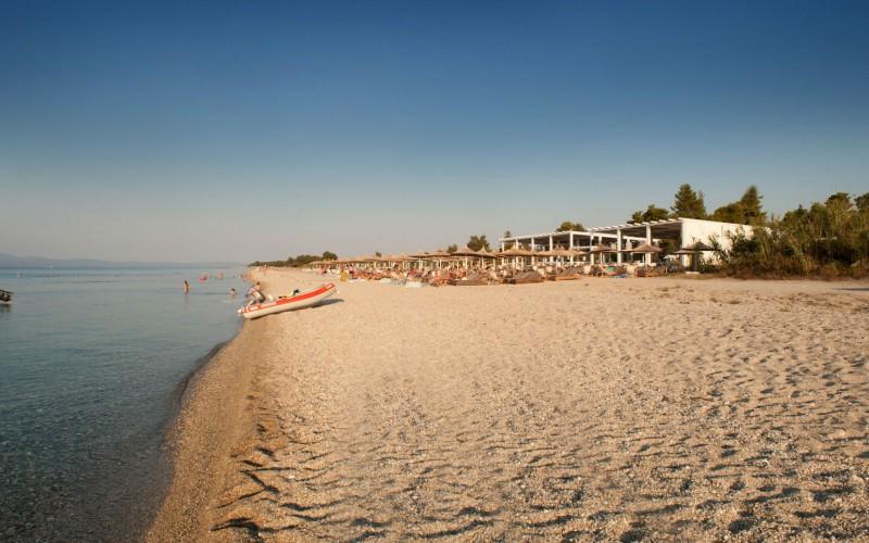 Umbrellas beach bar Pefkohori - Chalkidiki