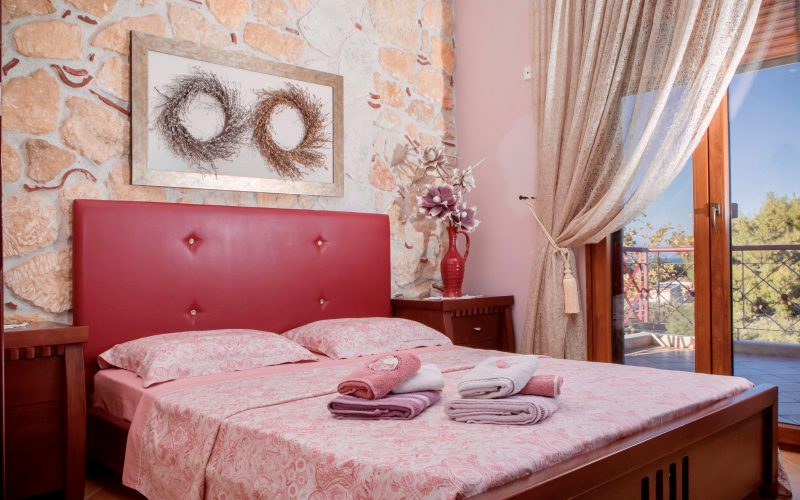 Halkidiki home bedroom