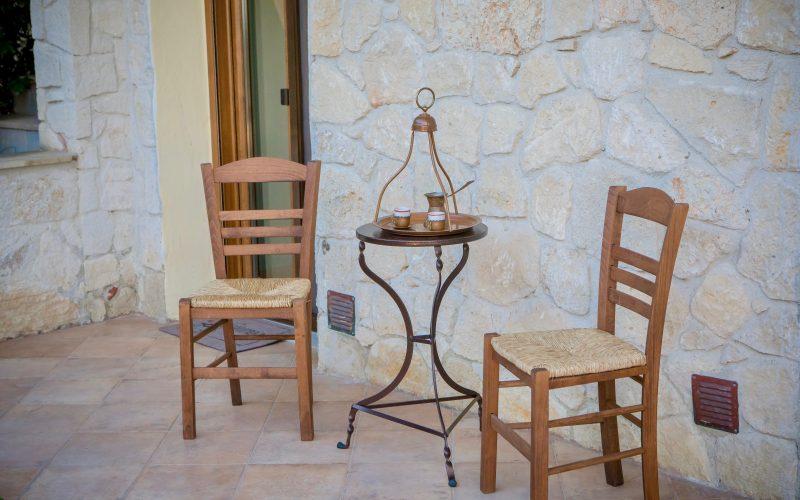 Greek style veranda Chalkidiki